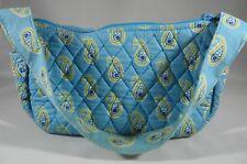 Vera Bradley BERMUDA BLUE Maggie Purse Shoulder Bag Tote Retired