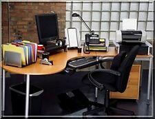 Sotto tastiera computer scrivania Vassoio Scaffale Cassetto scorrevole Kit Completo-GRIGIO DA GTV