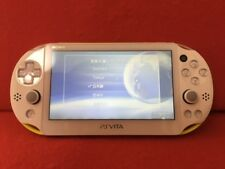 USED PlayStation PS Vita Wi-Fi Console only Lime green / white PCH-2000ZA13 F/S