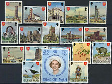 Isle Of Man 1978 SG#111-128 Definitives MNH Set #D3470