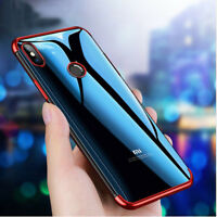 For Xiaomi Mi 8/8se Edition Case Electroplate Clear Soft TPU Hybrid Slim Cover