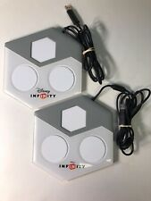 LOT of 2 Disney Infinity Portal Base Pads for Xbox 360