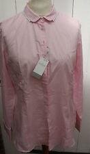Bluse - van Laack Gr. 44 - Baumwolle - Hemdbluse - Modell Adele -  -  - Neuware