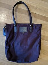 Cute Marc by Marc Jacobs Preppy Burgundy Nylon Tote with Zipper