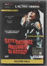 Sette orchidee macchiate di rosso (U. Lenzi, 1972) dvd ed. Next Video