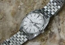 Omega Constellation Automatic Watch White Gold Türler Dial Linen