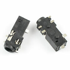 20Pcs 3.5mm Female Audio Connector 6 Pin SMT SMD Stereo Headphone Jack PJ328B