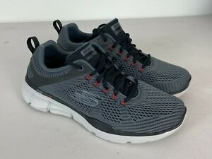 Skechers Mens Shoes Sneakers Relaxed Fit Equalizer 3.0 Running Gray Sz 9.5