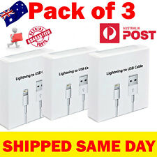 3X Lightning Data Fast Charger Cable Cord Compatible apple iphone 5 6S 7 8 plus