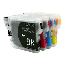 Refillable Ink Cartridge for Brother LC39 LC980 LC985 LC975 DCP-J125 J315W J515W