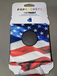 PopSockets PopThirst Beverage Can Sleeve Grip  USA