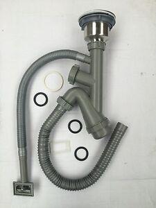 Flexible Single Sink Waste with Flexible Overflow