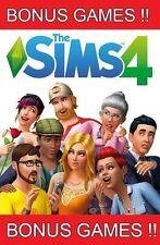 BIG SUMMER SALE BONUS GAMES!! THE SIMS 4 PC/MAC FULL GAME MULTILANGUAGE