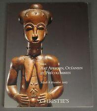 Christies Art Africain, Oceanien et Precolombien African Paris 2005