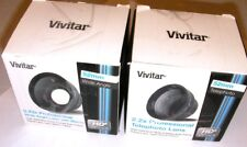 VIVITAR 52mm lens kits .43x wide angle + Macro & 2x2 Telephoto, BOTH! New In Box