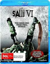 Saw 06 (Blu-ray, 2010) NEW AND SEALED