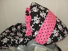 SUGAR SKULLS INFANT CAR SEAT COVER/Graco & custom most Brands