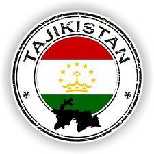 Tajikistán Sello Sello Pegatina para Coche Camión Portátil Tablet Nevera Puerta