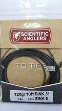 "Scientific Anglers "" Tc Tips "" 120gr 10ft Sink 3/ Sink 5 =3.0/5.0 ips Spey"