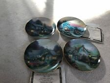 "Thomas Kinkade ""Enchanted Cottages"" Collector Plates"
