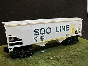 """K LINE 6228 """"O"""" GAUGE CLASSICS  SOO LINE COVERED  HOPPER"""