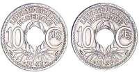 Troisième république (1871-1940) - 10 Centimes - 1939 double revers à 24 pans
