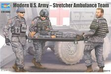 TRUMPETER 00430 1/35 Modern U.S. Army-Stretcher Ambulance Team