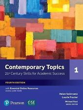 Contemporary Topics 1 with Essential Online Resources (4th Edition), Frazier, La