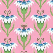 Free Spirit Jane Sassaman - Cool Breezes - Pretty Pinks -  Blue - PWJS087  BTY