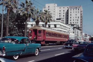 Los Angeles Metropolitan Transit Authority  LAMTA   #1702  Ocean & Cedar  10/60