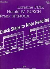 CELLO Quick Steps to NOTE READING Sheet Music Book Volume 1 in EC