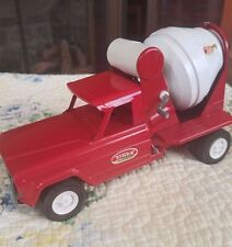 "VTG Tonka Jeep Cement Mixer Truck Metal Die Cast Toy 52110 GUC 9"""