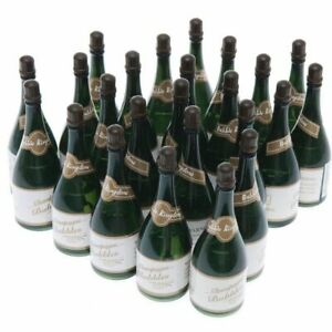 24 Mini Champagne Bottles Wedding Bubbles New Years Eve Graduation Party Favors