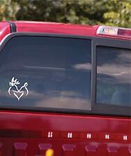 Deer Heart Vinyl Decal Sticker Car Window Decal Sticker