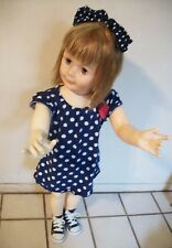 """DARLING HUGE 35"""" VINTAGE @1959 JOINTED PATTY PLAYPAL? COMPANION LIFESIZE DOLL"""