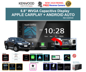 Kenwood DMX5020S Car Stereo Upgrade To Suit Toyota Hilux 2014 to 2015