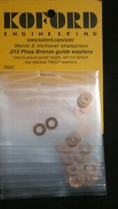 KOFORD .010 PHOS BRONZE GUIDE WASHERS 6 PER PACKAGE M321