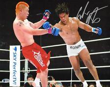Carlos Newton Signed 11x14 Photo BAS Beckett COA UFC Pride FC Bushido 5 Picture
