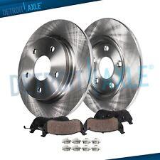 Rear Disc Brake Rotors /& Ceramic Pads 3PCS For Ford Sable Ford Taurus