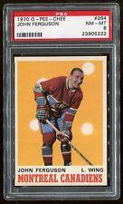 1970 O-Pee-Chee OPC #264 John Ferguson *Canadiens* PSA 8 NM-MT Cert #23905222