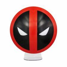 Officiel Marvel Comics Deadpool Logo Light Humeur Bureau Lampe de table New in Box