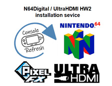 N64Digital (PixelFX) UltraHDMI Installation Nintendo 64 N64