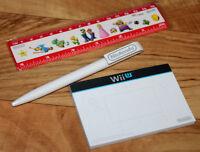 Mario Yoshi Wario Luigi Nintendo Promo Ruler Ball Pen & Notepad 3DS Wii U