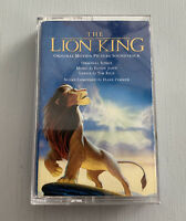 Walt Disney Pictures The Lion King Soundtrack Cassette, Elton John, Hans Zimmer