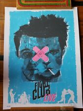 Fight Club poster by artist Colin Gill