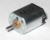 FF-M10VA Mini High Speed Electric Motor - 4.5 VDC - 21500 RPM - 1.0 mm Shaft Dia