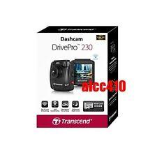 Transcend DrivePro 230 DP230 Car Cam Dashboard Camera w/ Built-In Wi-Fi /16G MLC