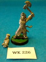 WH40K - Imperial Guard - Commissar with Axe - Metal WK226