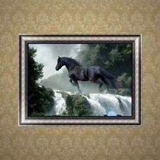 5D Horse Diamond Embroidery Rhinestone Painting Cross Stitch DIY Decor Gift