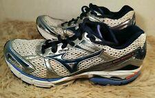 MIZUNO Wave Inspire 8 Running Cross Training Shoes Womens Size 7.5 White Silver